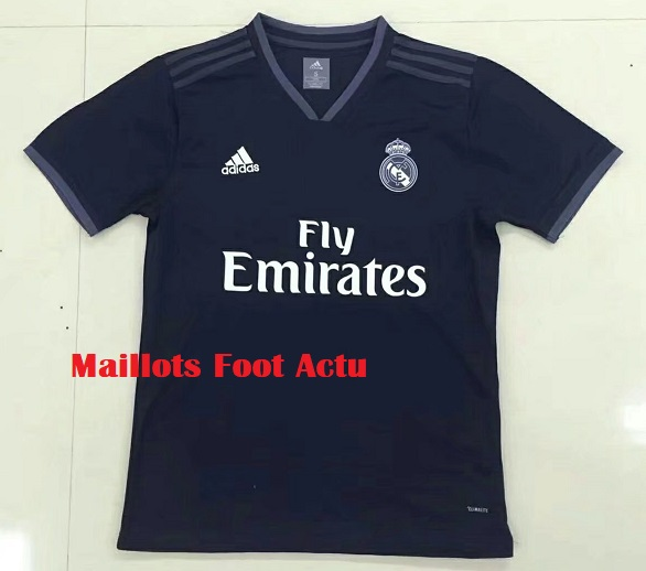 Real Madrid 2019 maillot exterieur Adidas 18 19