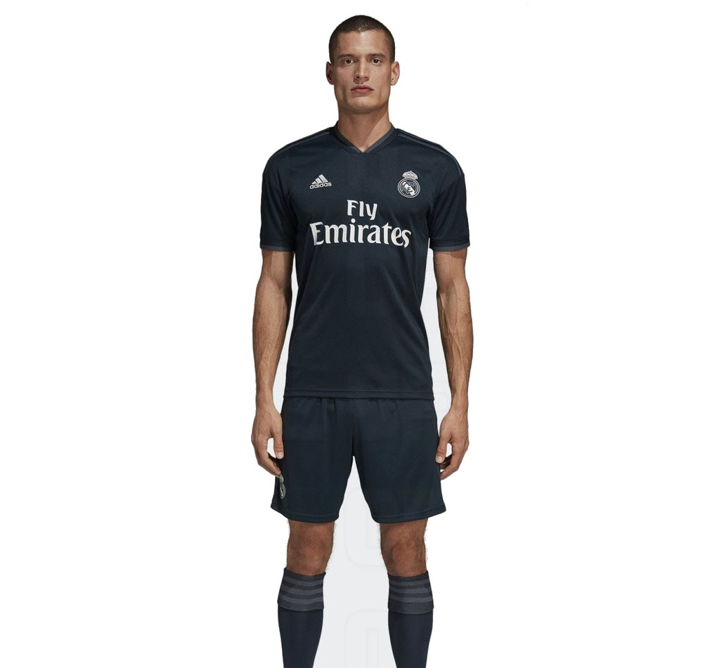 Real Madrid 2019 maillot exterieur foot 18 19