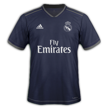 Real Madrid 2019 maillot exterieur football 18 19