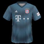 Bayern Munich 2019 troisième maillot third foot 18 19