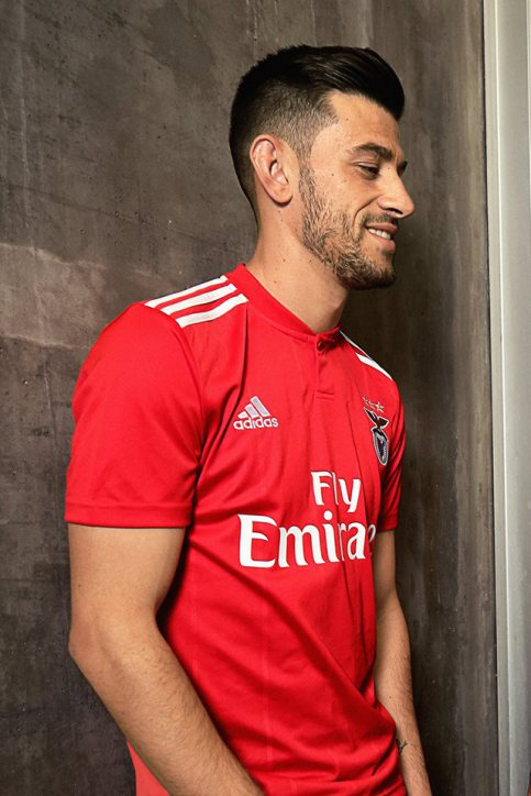 Benfica 2018 2019 maillot domicile foot Adidas