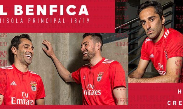 Benfica 2019 les nouveaux maillots de foot 18-19