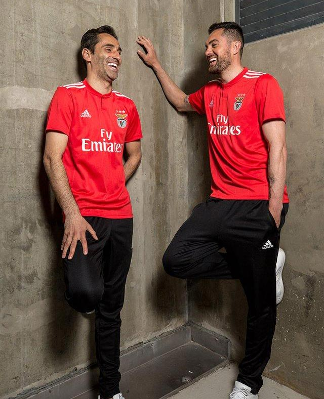 Benfica 2019 maillot domicile foot Adidas
