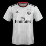 Benfica 2019 maillot exterieur 18 19