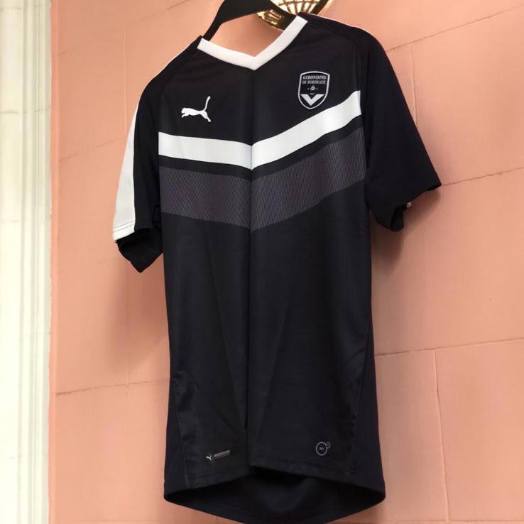 Bordeaux 2019 maillot de football domicile