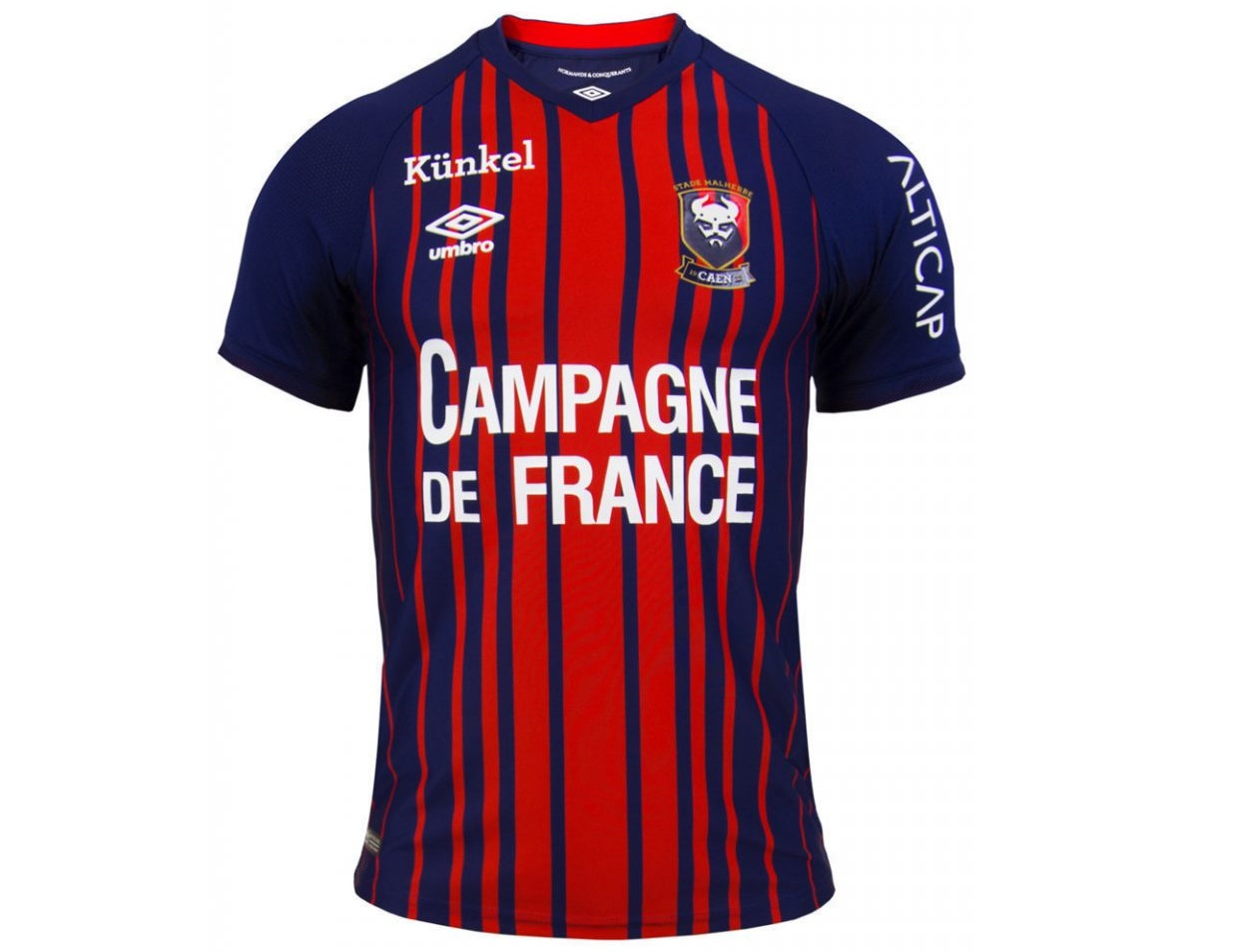 Caen 2019 maillot foot de foot 18 19