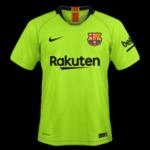 FC Barcelone 2019 maillot extérieur foot 18 19