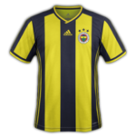 Fenerbahce 2019 maillot foot domicile