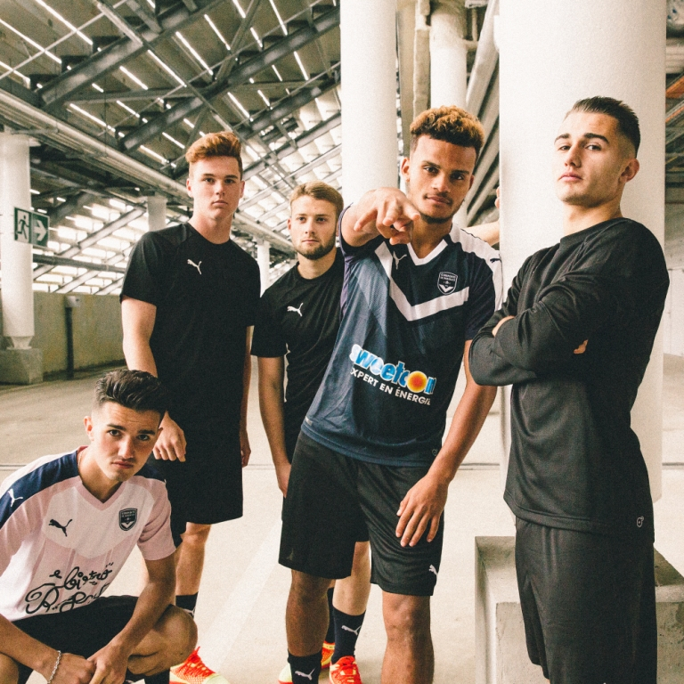 Girondins Bordeaux 2019 maillots foot football 2018 2019