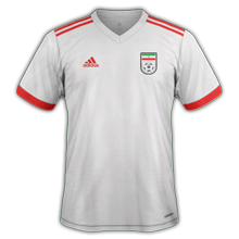Iran 2019 maillot domicile coupe du monde 2018