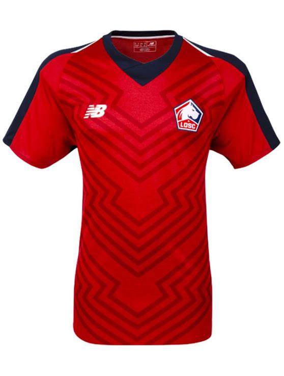 LOSC 2019 maillot domicile Lille officiel 18 19