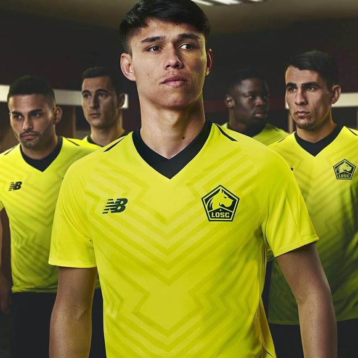 LOSC 2019 maillot exterieur Lille officiel 2018 2019
