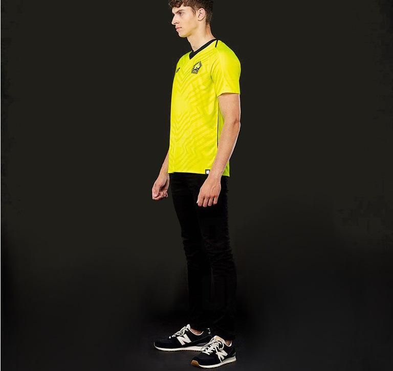 Lille 2019 maillot football extérieur jaune