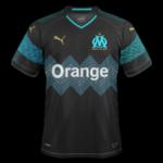 OM 2019 maillot extérieur Olympique de Marseille 18 19