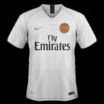 PSG 2019 maillot extérieur Paris Saint Germain 18 19