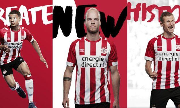 PSV 2019 les nouveaux maillots de football 18-19