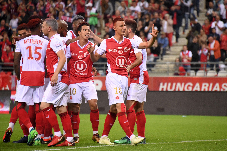 Reims 2019 maillot de foot L1 18 19
