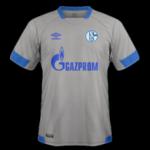 Schalke 2019 maillot exterieur football