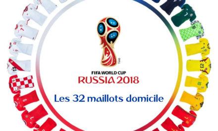 La couleur du maillot vainqueur de la coupe du monde 2018