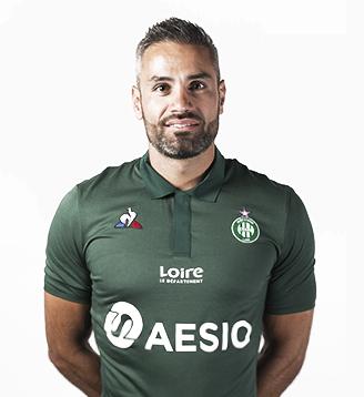 ASSE 2019 maillot domicile officiel Perrin