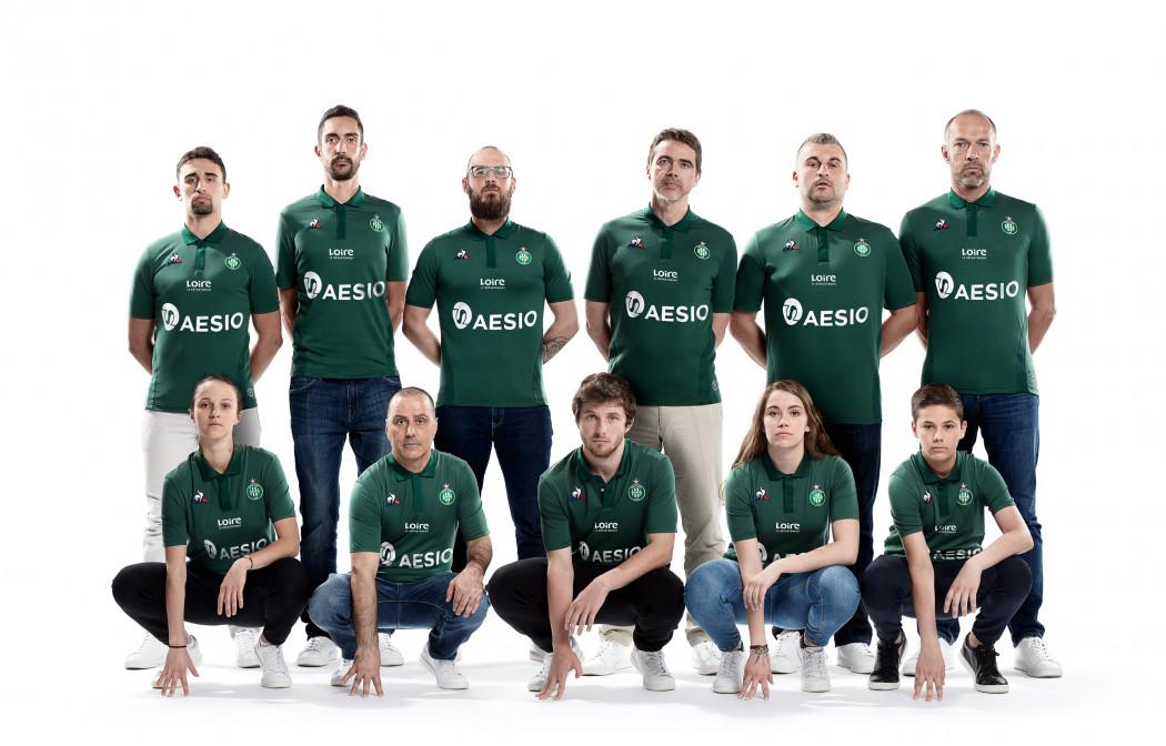 ASSE 2019 nouveau maillot 11 supporters
