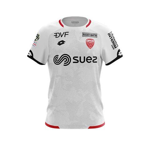 Dijon 2019 3eme maillot third foot