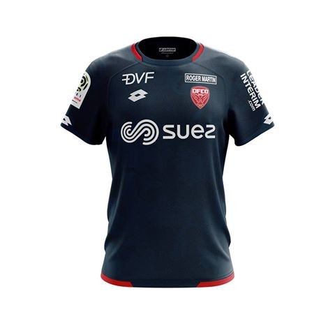 Dijon 2019 maillot exterieur football