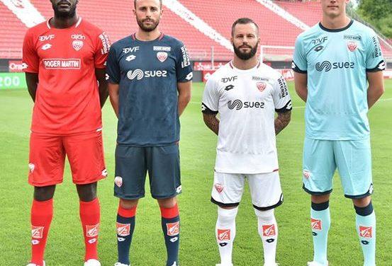 Dijon 2019 les nouveaux maillot du DFCO 2018-2019