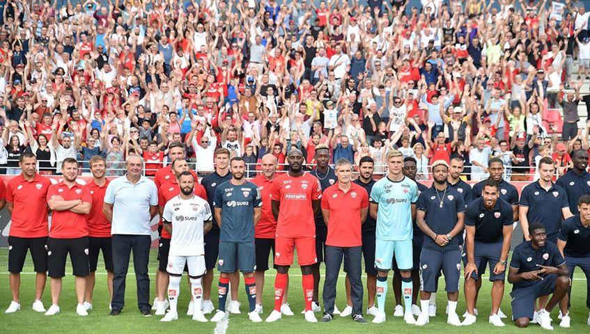 Dijon 2019 nouveaux maillots foot DFCO