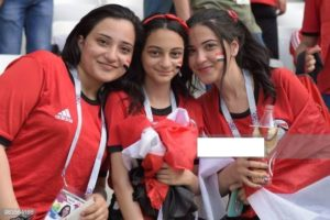 Egypte supportrices coupe du monde 2018