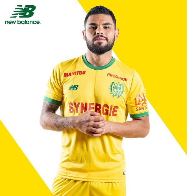 FC Nantes 2018 2019 new balance maillot domicile New Balance