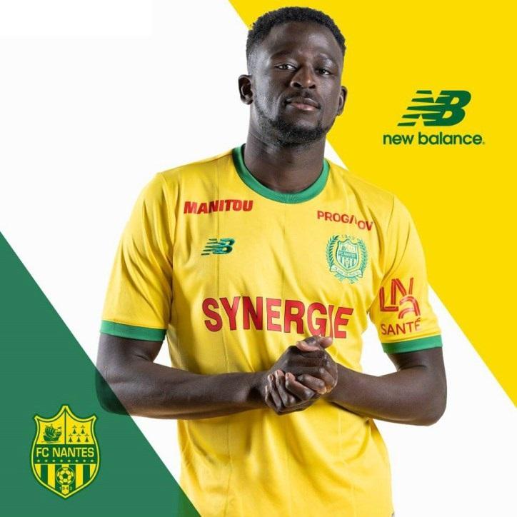 FC Nantes 2018 2019 new balance maillot domicile