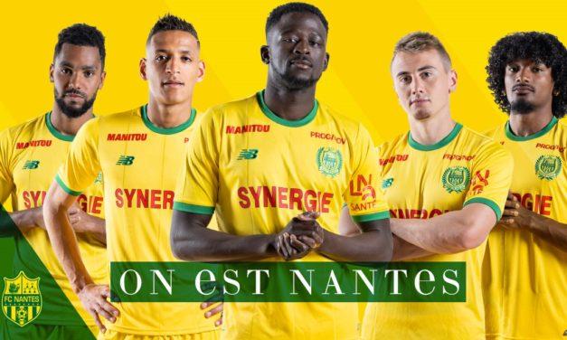 FC Nantes 2019 les nouveaux maillots de foot nantais 18/19
