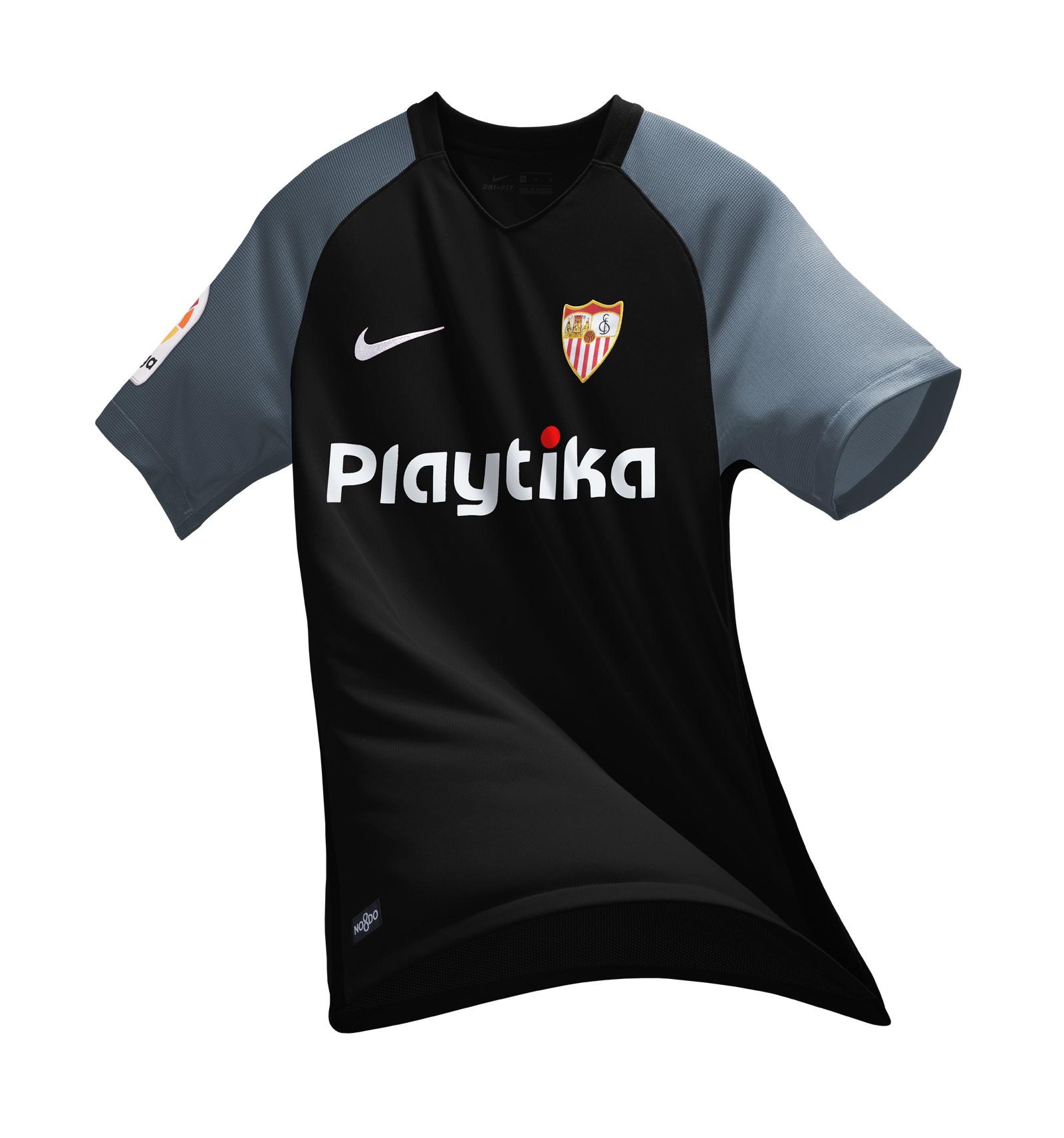 Maillot Extérieur Sevilla FC noir