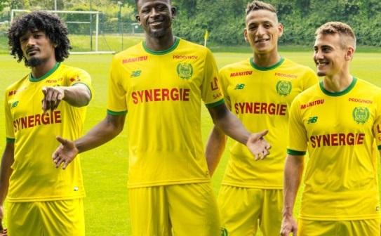 FC nantes 2019 maillot de foot domicile officiel