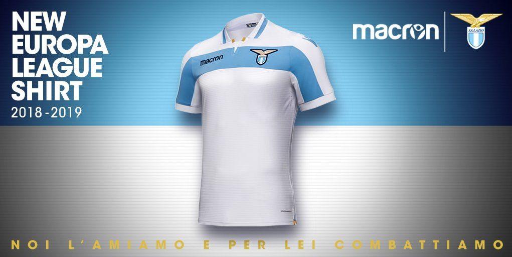 Lazio de Rome 2019 maillot extérieur football 18 19