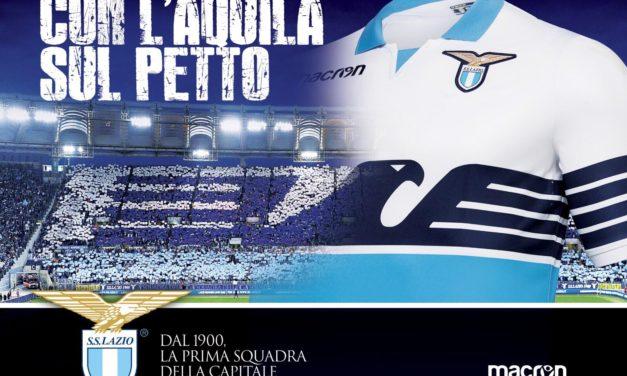 Nouveaux maillot de foot Lazio de Rome 2019 Macron