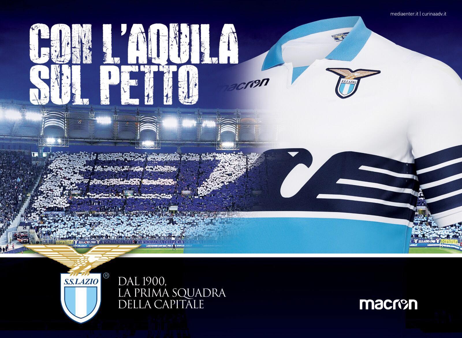 Lazio de Rome 2019 nouveau maillot domicile football 18 19