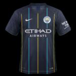 Manchester City 2019 maillot extérieur football 18 19