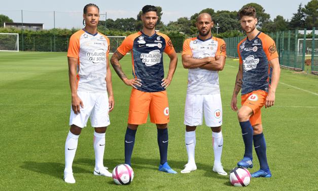 Montpellier 2019 nouveau maillots MHSC 2018-2019 avec Nike