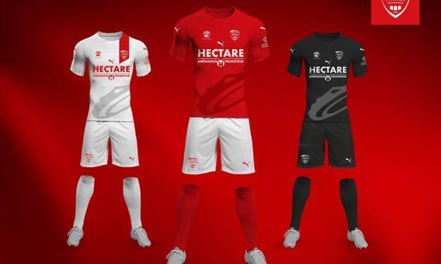 Nîmes 2019 les nouveaux maillots de foot par Puma