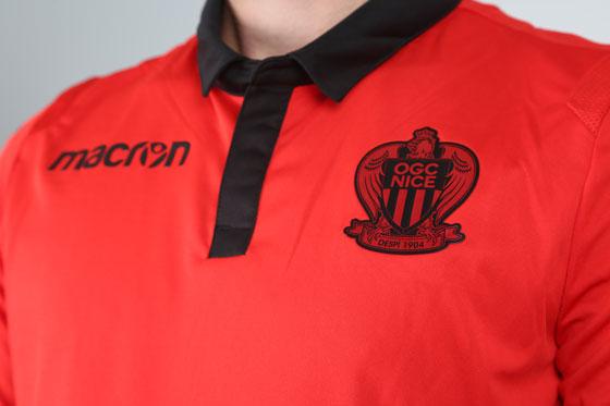 OGC Nice 2019 maillot extérieur rouge