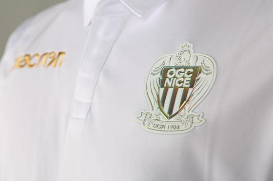 OGC Nice 2019 maillot extérieur blanc 2018 2019