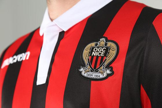 OGC Nice 2019 maillot foot 2018 2019 domicile