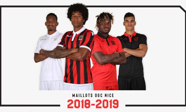 Macron sort les nouveaux maillots OGC Nice 2019