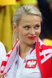 Pologne belle supportrice coupe du monde 2018