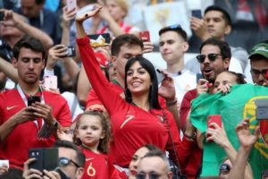 Portugal belle supportrice coupe du monde 2018