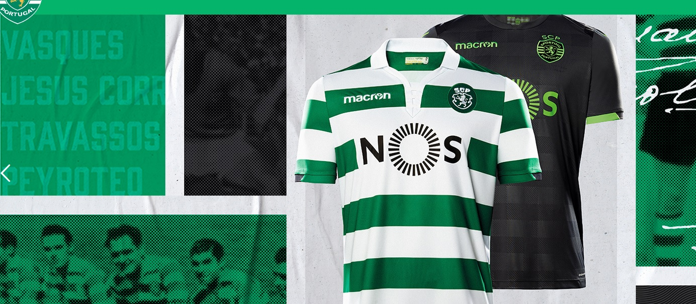 Maillot Sporting CP Tenue de match