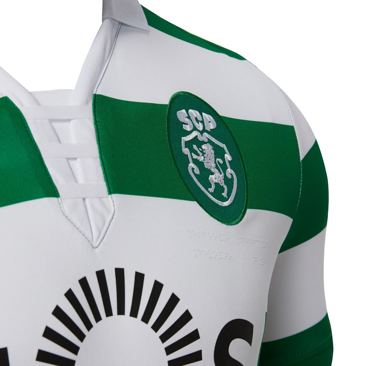Sporting 2019 nouveau maillot de foot domicile officiel