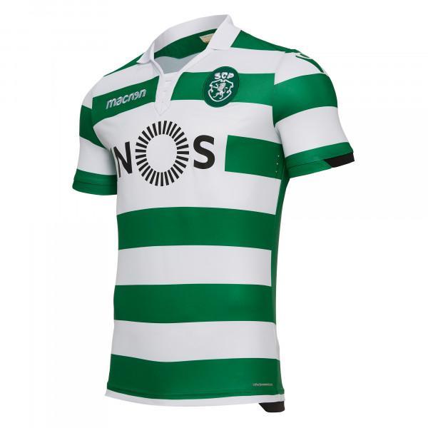 Sporting 2019 nouveau maillot de foot domicile
